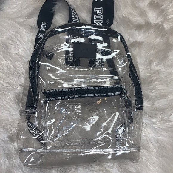 Clear VS Pink Backpack
